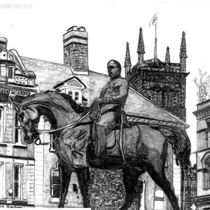 Post 121 - The Man on the oss is 150 years old today