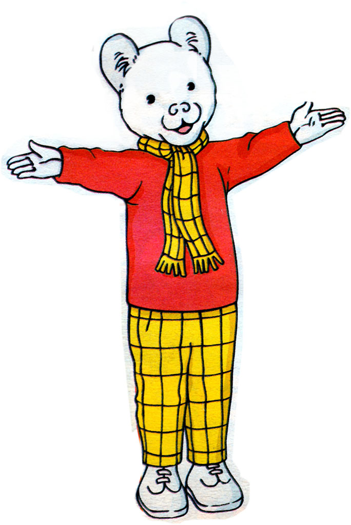 Rupert The Bear - 100 years old - Lost Wolverhampton