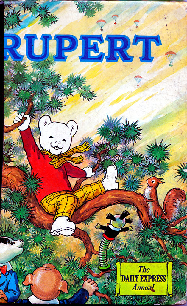 Rupert The Bear Daily Express Annual - Lost Wolverhampton