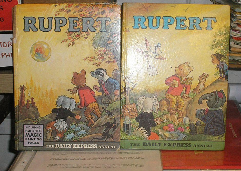 Rupert The Bear Annuals - Lost Wolverhampton