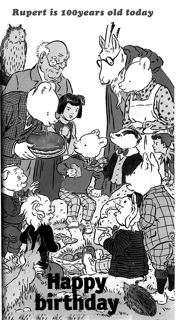 Rupert the bear is 100 today! - Lost Wolverhampton