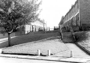 Steps to Nursery Street 1974