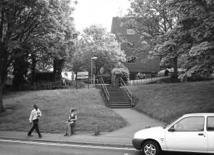 Steps to Nursery Street 2008