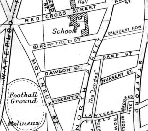 Map of North Street