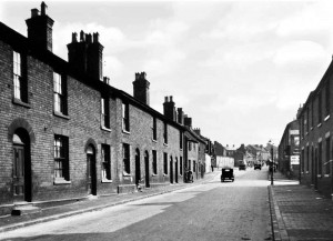 Looking up North Street from the bottom of the Londes 1939