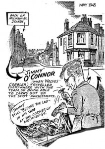 Cartoon of Jimmy O'Conners May 1945