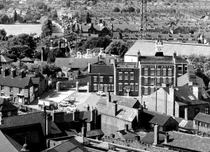 Molineux Hotel aerial view