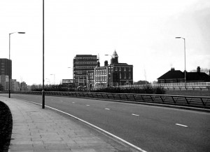 Molineux Hotel from the ring road