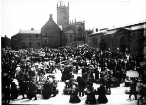 The Wholesale Market patch outside St Peters 1900