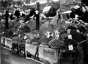 Jim Goughs fruit stall