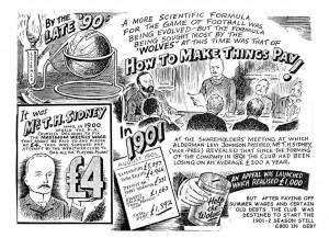 Cartoon from the Birmingham Argos Series 1946