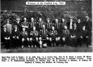 Just weeks after Wolves' 1908 English Cup Victory