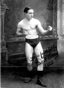 A signed photograph of Bert 1920