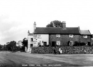 The Pear Tree Inn circa 1920