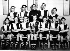 Saint Joseph's Senior School Wolverhampton Football Champions 1953
