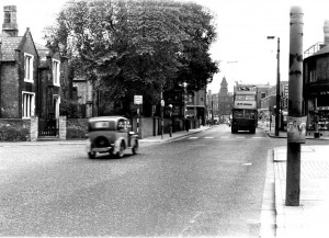Stafford St / Charles St junction circa early 1950s