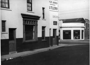 The Four Ashes Pub circa 1950