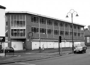 Derelict Charles Clark building on Merridale Road 2009