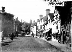 Opposite the Market on North Street circa 1930