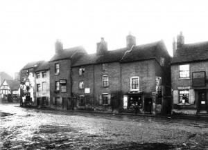 Art Street Peel Street Salop Street Junction 1920's