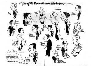 edwin-hingley-commitee-black-and-white-illustration