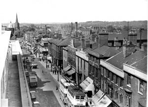 Darlington Street  small Caption Darlington Street in 1940