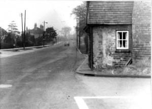 Vicarage Road,Penn Road corner 1957.