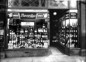 Beverleys wine. shop.