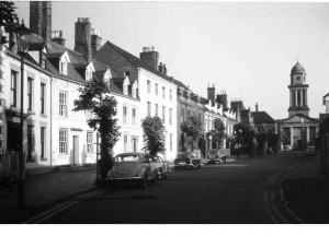 Castle Street close to Fred Hartills Cottage late 1960s.