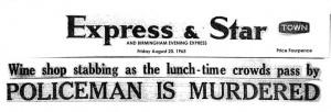 Express & Star Headline