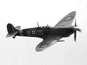 The Spitfire in Action.