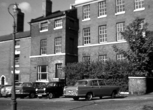 St John's Vicarage circa 1960s.